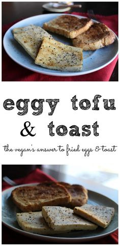 Eggy tofu & toast: A 5 minute vegan breakfast that is packed with protein   cadryskitchen.com