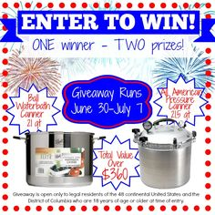 Home Canning And Preserving Giveaway!