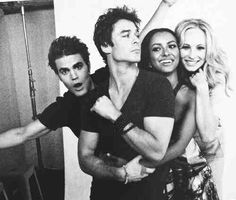this might be the hottest picture ever. TVD The Vampire Diaries