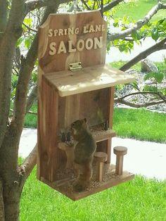 Saloon Squirrel Feeder                                                                                                                                                      More