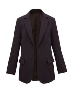 The 9 Best Clothing Styles for Petite Women | Who What Wear UK Navy Jacket, Suit Jacket, Ol Fashion, Curvy Fashion, Suit Shop, Petite Women, Tailored Trousers, Fashion Essentials, Navy Women