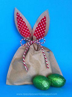 Easter Gift Bag Tutorial