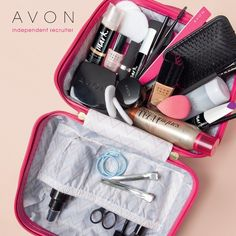 Loving this❤️  Gorgeous Antler Glam box. A super glossy durable case  with stylish chevron print lining and two inside pockets  perfect for keeping your brushes tidy.  £15 when you spend £10 or more on make-up across   pages 6 -59 of Brochure 11. Remember to add yours to   your order.✈️