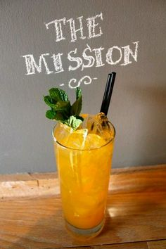 Apricot nectar, Bulleit Bourbon, Cardamon syrup and mint