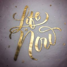 """Typeverything.com """"Life is Now"""" by @rjmawst"""