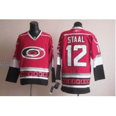 e3e03f40 Reebok Eric Staal Carolina Hurricanes #12 Third Stitched Hockey Jersey -  Red_Eric Staal Jersey