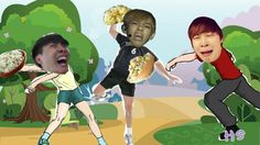 Me and my friemd thought BTS throwing potato salad was a good idea. (Based off the dream i had where BTS made potato salad)