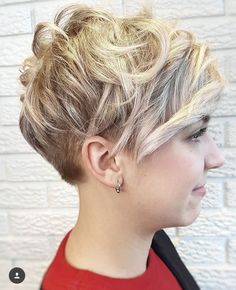 Short Curly Pixie Hairstyles 2019 20 Versatile Short Curly Pixie Haircuts to Sport In 2018 Of 94 Inspirational Short Curly Pixie Hairstyles 2019 Short Curly Pixie, Curly Pixie Hairstyles, Long Face Hairstyles, Short Pixie Haircuts, Hairstyles Haircuts, Curly Hair Styles, Bold Haircuts, Beach Hairstyles, Hairstyle Men