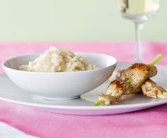 Zitronengras-Risotto mit Kaninchenfilets - Rezept - Saisonküche
