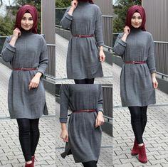 IG: hijab_is_my_diamond_official - Hijab Casual, Hijab Chic, Arab Fashion, Islamic Fashion, Muslim Fashion, Hijab Style Dress, Modest Fashion Hijab, Fashion Outfits, Fashion Muslimah