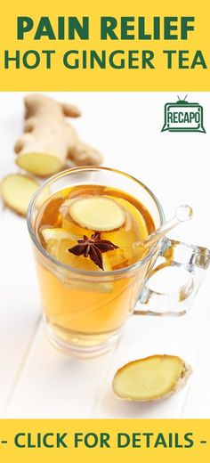 Do you want to learn a natural way to ease your chronic pain? Dr Oz suggests a tea that he drinks for aches and pains. Ginger Tea is a natural pain reliever, because it has potent anti-inflammatory compounds called Gingeralls.