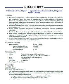 Hr Director Resume Impressive Sample Resume Template For Hr Executive  Hiring Manager Resume .