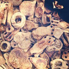 pottery bits Photo by @happymundane on Instagram