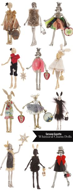 Mimosa Lane: Currently Coveting || Servane Gaxotte Doll Charms