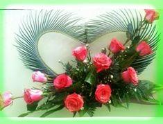 Valentine Flower Arrangements, Funeral Floral Arrangements, Tropical Flower Arrangements, Creative Flower Arrangements, Church Flower Arrangements, Rose Arrangements, Beautiful Flower Arrangements, Unique Flowers, Beautiful Flowers
