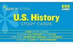 U.S. History Study Cards