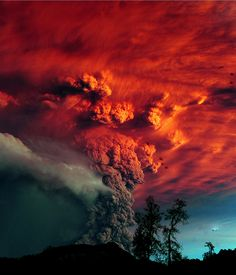 Puyehue Vulcanic erution