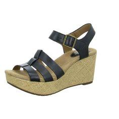 7a521df420d72f  Schuhe24  CLARKS  Keil Sandalen  Sale  Schuhe  Damen  Clarks