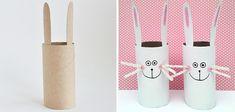 Conekito con tubo de papel higiénico #manualidades