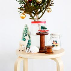 Short on room this Xmas? Instead of a tree why not make this easy DIY Christmas Display to store your gifts under!