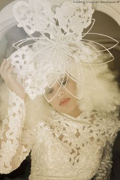 Snowflake Avant Garde SNOW Queen by bwilkerson74 on Etsy, $395.00