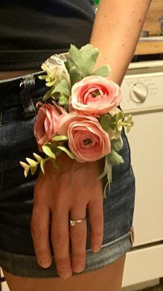 Mother's corsage wedding diy