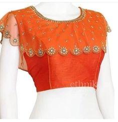 New Saree Blouse Designs, Netted Blouse Designs, Simple Blouse Designs, Stylish Blouse Design, Bridal Blouse Designs, Blouse Patterns, Kurti Patterns, Sharara Designs, Designer Anarkali