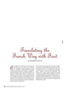 The Cooks Cook - February/March 2017 - Page 58