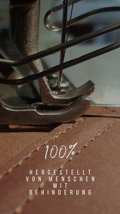 100% hergestellt von Menschen mit Behinderung in der Stiftung arwole in Sargans, Schweiz.