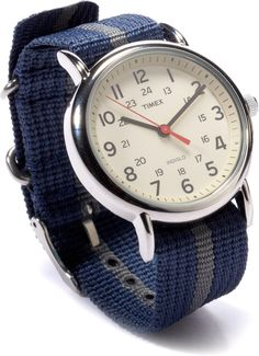 The Timex Weekender Watch— swapping in a different band is easy and inexpensive. #REIGifts