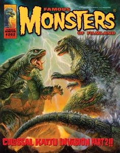 Famous Monsters of Filmland #262: Gamera vs. Godzilla, who do you pick?