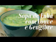 Sopa de Fubá com Couve e Gengibre - Presunto Vegetariano