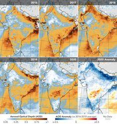 COVID-19 wont impact climate much but economic recovery could Air Pollution In India, Indian Government, Image Of The Day, Greenhouse Gases, Science And Nature, Nasa, Around The Worlds, Earth, Risk Management