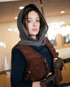 Jyn Erso cosplayer - Rogue One cosplay at LBCC (photo by @bytiffanychien, cosplay by @spectreseven_)