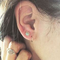 L.A.'s 10 Coolest Ear-Piercing Combinations — & The Man Behind Them All+#refinery29