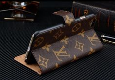 Luxury Style iPhone 6 Leather Wallet Case 4.7 inch by Lether55 on Etsy
