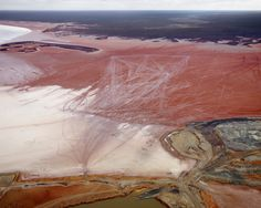 Edward Burtynsky Silver Lake Operations # 13,  Lake Lefroy, Western Australia, 2007