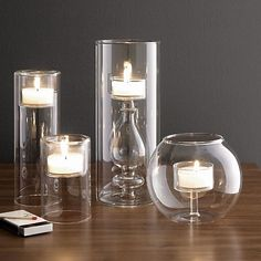 Trix Candleholder in Candleholders | Crate and Barrel