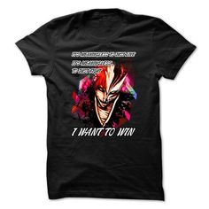 Anime Bleach I Want To Win T Shirts, Hoodie, Tee Shirts ==► Shopping Now!