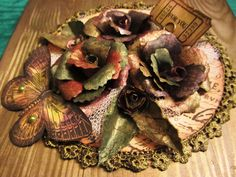 Craft Glassine flowers