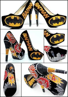 Batman shoes... I need them... I need them NOW!!!