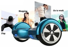6.5inch 36V 4.4A 2 wheels unicycle smart drifting self balance scooter Tech Spec: self balance scooter Max load: 100kg Max speed: 10km/h Max range: 10-15 km  Battery power: 158wh Motor power: 250w*2 Working voltage: 36v,4400MAH Max climbing angle: 10-15℃ Product size: 58.4(L)*17.8(W)*18.6cm(H) Tire size: 6.5 inch  Packing: 1* Charger,1* User Manual, 1* Smart Electric Scooter Price: $329  order link by wish platform: https://www.wish.com/c/56155ed43a698c255aeeff87