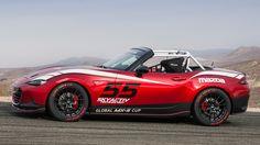 Photos: 2016 Mazda MX-5 Miata Cup Car - Road & Track | Pinned by FlanaganMotors.com, Missoula, MT