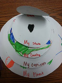 Love this.  Especially since kids have no idea what the difference between a state, country and continent. Sad.