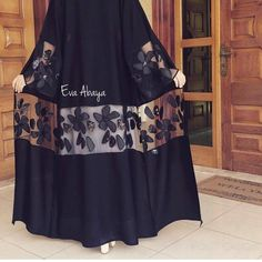 Abaya Style 298082069083028469 - Source by amxnxm Iranian Women Fashion, Islamic Fashion, Muslim Fashion, Modest Fashion, African Fashion, Fashion Dresses, Abaya Designs, Abaya Mode, Mode Kimono