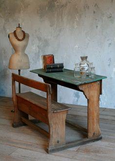 Fresh Old School Desks On Ebay