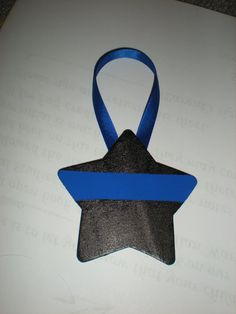 Made in hearts or stars. Can be personalized. Great way to support the thin blue line! Police Wife/Thin Blue Line Handpainted by PrettiesbyJilly620, $3.99