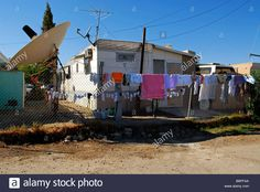 Find the perfect trailer trash park stock photo. Trailer Park, Satellite Dish, Happy Campers, Stock Photos, Trailers, Parks, Photography, Image, Google Search