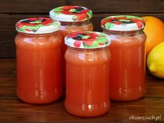 Antygrypina - syrop na grypę Home Remedies, Preserves, Salsa, Menu, Herbs, Jar, Homemade, Recipes, Food
