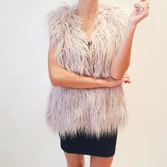 "Shop ""Endless Shaggy Vest"" at kkbloomboutique.com @kkbloomboutique"